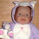 Berenguer Doll with Cat Meows Lots to Cuddle Baby