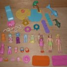 Polly Pocket Dolls Beach Island Water Ski Clothes Boy