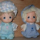 Precious Moment Doll 1989 Enesco Mom & Dad