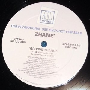 "Zhane, Groove Thang 12"" Motown Record 1993 374631141"