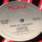 "King of the Beat, Pumpkin, 12"" record Profile PRO-7038"