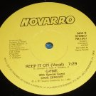 "Keep it on, G-five, 12"" record Novarro NR-1001"