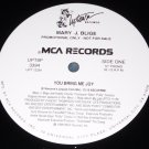 "Mary J. Blige, You Bring Me Joy 12"" Record, Uptown Records 1995 Promo"