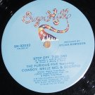 "Furious Five Melle Mel Scorpio, Step Off, 12"" Record, SugarHill 1984"
