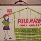 Fold Away Doll House Pool MPC Dollhouse Furniture 1960s
