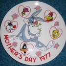 Looney Tunes Plate Bugs Bunny Road Runner Tweety