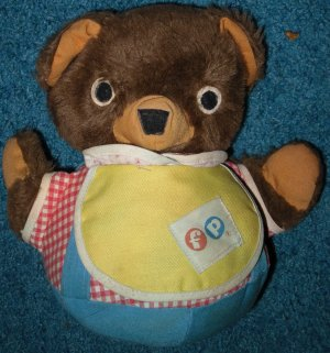 Fisher Price Bear 719 Rolly Polly Musical FP