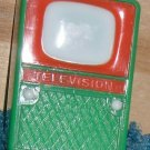 Doll House Television Vintage Dollhouse Plastic TV
