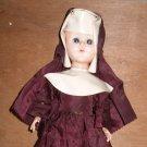 "Vintage Nun Doll 13"" Blue Sleep Eyes"