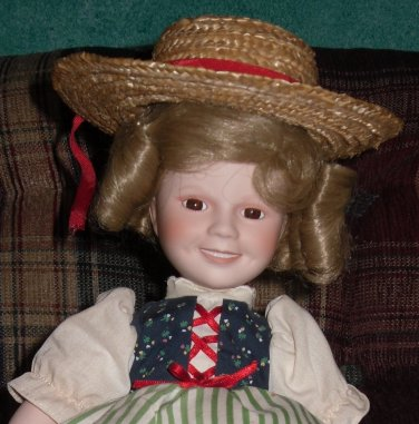 Shirley Temple Doll as Heidi Danbury Mint