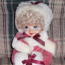 Brinn's Doll January Calendar Clown Porcelain 1986