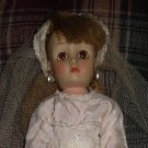 "Vintage Horsman Bride doll 14"" tall Revlon face"