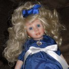 Little Jewel Collection Porcelain Doll September World Gallery USA