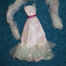 Barbie Crystal White Gown Set 1983 Mattel