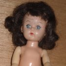 "8"" Hard Plastic Walker Pam Ginger Doll"