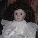 Victorian Porcelain Doll Franklin Heirloom by Beth Mullins