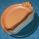 Clarksville Pottery Plate Bowl Made in Texas USA