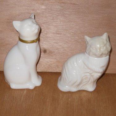 Avon Cat Cologne Bottles