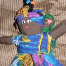 Topsy-Turvy Mammy Doll with Baby