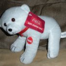 2 Coca Cola Coke Plush Bean Bag Bears