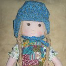 "Holly Hobbie 16"" Rag Doll Knickerbocker"