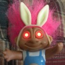 Troll Doll with Light-up Glow eyes Soma 1992