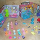 Polly Pocket Case Dolls & Clothes Beauty Salon