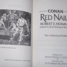 Conan Red Nails Book Robert E Howard 1977 HC