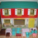 Tin Doll House & Furniture Wolverine Marx