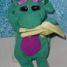 Baby Bop's Plush Blankey Book & Barney Beanie