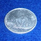 Brontosaurus Coin Medal Post Cereal