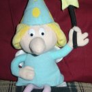Rocky Bullwinkle Friends Fractured Fairy Plush Beanie Doll