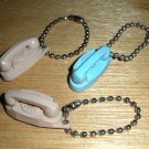 Bell Telephone Princess Phone Key Chain Charm 1960s