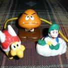 McDonalds Super Mario Figures 1989 Nintendo