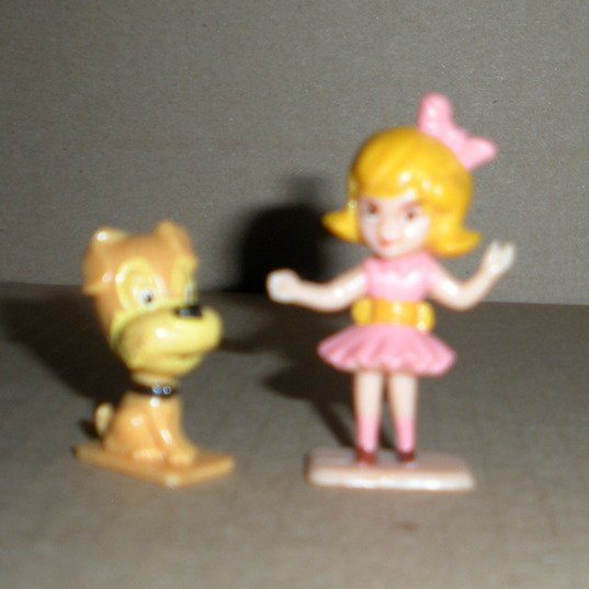 Miniature Doll Ballet Figure & Dog Cake Toppers Multiple Toymakers