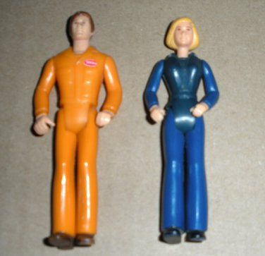 Tonka Dollhouse Action Figures 1970s