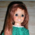 Ideal Crissy Doll with Green Dress Grow Hair