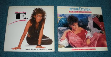 "Sheila E The Belle, Gloria Estefan Rhythm 12"" Single"