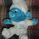 Smurf Plush Doll True Blue Friend 1979 Peyo