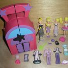 Polly Pocket Musical Stage 4 Dolls Clothes Accessories