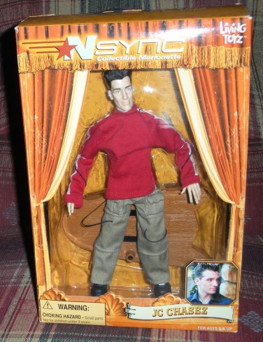 Nsync JC Chasez Marionette Action Figure Doll