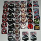 Rock Shop Buttons Pinbacks ACDC, Linkin Park, Eminem,