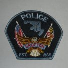 Croften Maryland Police Shoulder Patch 1969