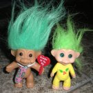 Troll Dolls Grandpa of the Year & Christmas Elf
