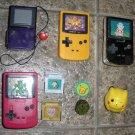 Pokemon Burger King Game Boy Toys, Batt Poke Tomy