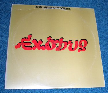 Bob Marley & the Wailers Exodus LP