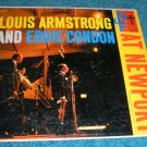 Louis Armstrong and Eddie Condon LP Columbia