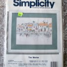 Simplicity Cross Stitch Kit The Marina