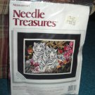 Needle Treasures Needlepoint Siberian Whites Tigers