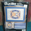 Bucilla Counted Cross Stitch Celestial Picture Pillow
